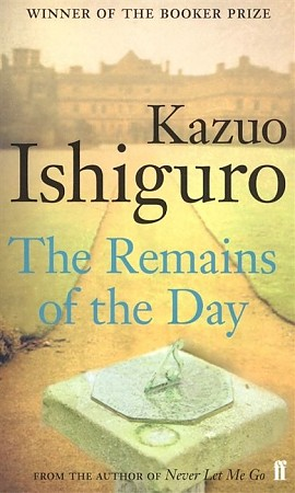 the great butler in remains of the day a novel by kazuo ishiguro The remains of the day is a 1989 novel by nobel prize on the meaning of the term dignity and what constitutes a great butler kazuo ishiguro discusses.