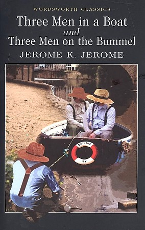 книга трое в лодке не считая собаки на английском