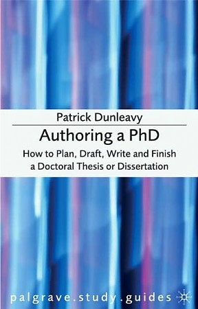 Patrick Dunleavy Authoring A Phd Thesis