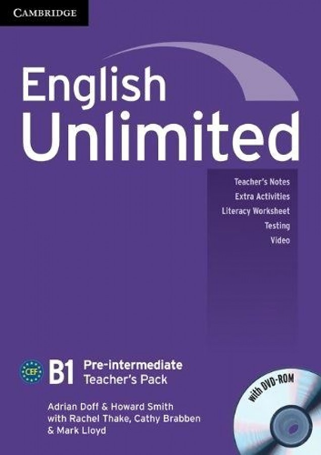 English Unlimited Pre-intermediate Teacher`s Pack (Teacher`s Book with DVD-ROM) (���������� ��� ������. ������������� ������� (����� ������� + DVD-ROM))