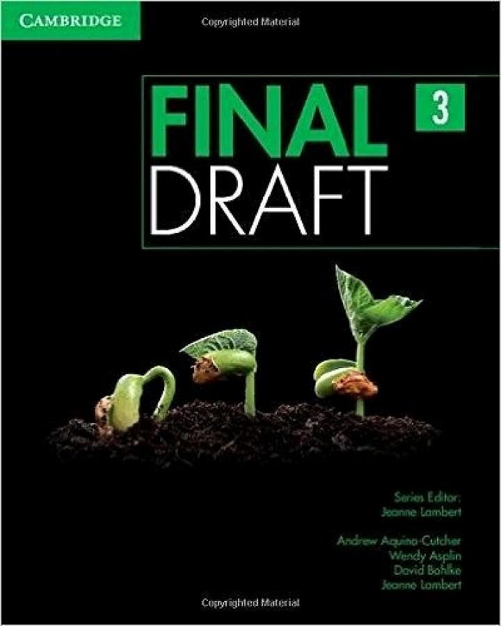 drafting final