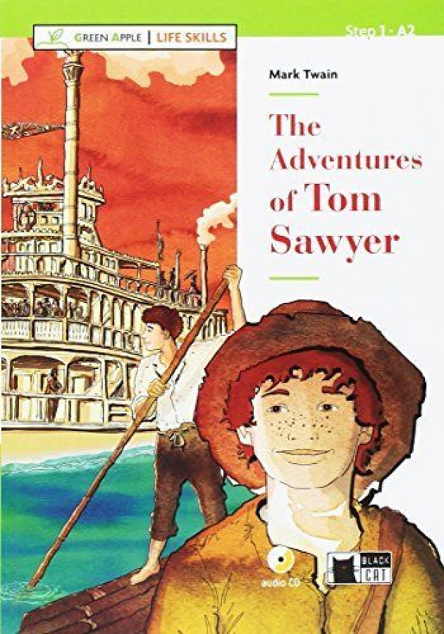 a description of mark twains two major works the adventures of tom sawyer and the adventures of huck Perhaps the best-loved nineteenth-century american novel, mark twain's tale of boyhood adventure overflows with comedy, warmth, and slapstick energy it brings to life an array of irresistible characters&mdashthe awesomely self-confident tom, his best buddy huck finn, indulgent aunt polly, and the.