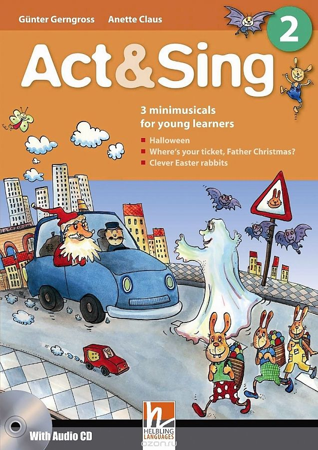 Act & Sing 2 (with CD (x1))