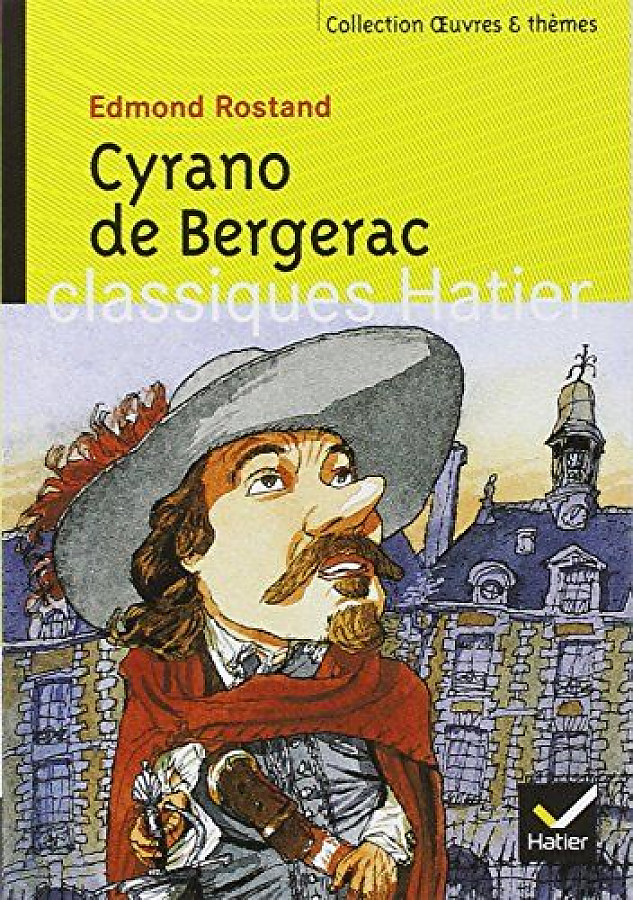 a review of edmond rostands cyrano de bergerac This is edmond rostand's immortal play in which chivalry and wit, bravery and love are forever captured in the timeless spirit of romance set in louis xiii's reign, it is the moving and exciting drama of one of the finest swordsmen in france, gallant soldier, brilliant wit, tragic poet-lover with the face of a clown.