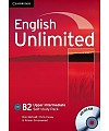 English Unlimited Upper Intermediate Self-study Pack (Workbook with DVD-ROM) (���������� ��� ������. ��� ������������ (������� ������� ��� ������������ � DVD-ROM))
