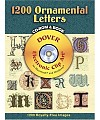 1200 Ornamental Letters CD-ROM and Book (1200 орнаментов писем)